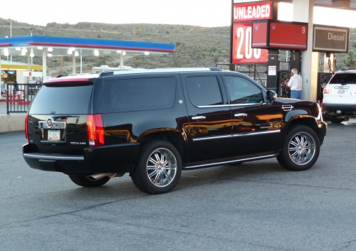 Black Cadillac Escalade