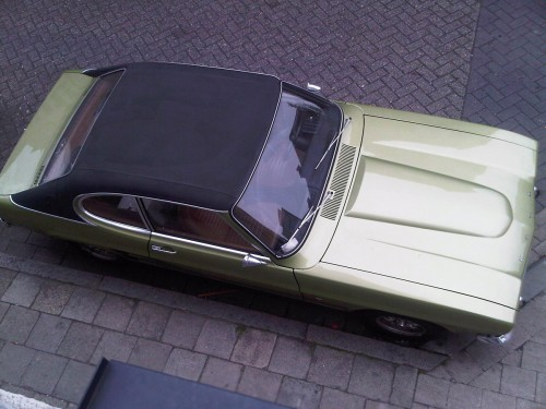 Ford Capri XL Lime Green