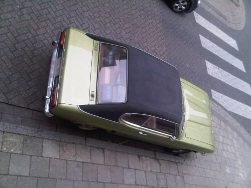 Back Side Ford Capri XL Lime Green